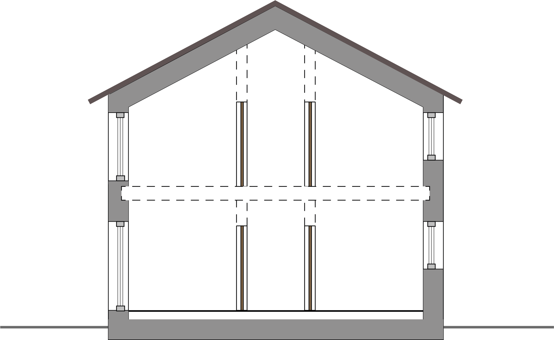 Envolvente térmica de un edificio