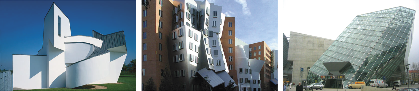 estilos arquitectónicos - la arquitectura deconstructivista