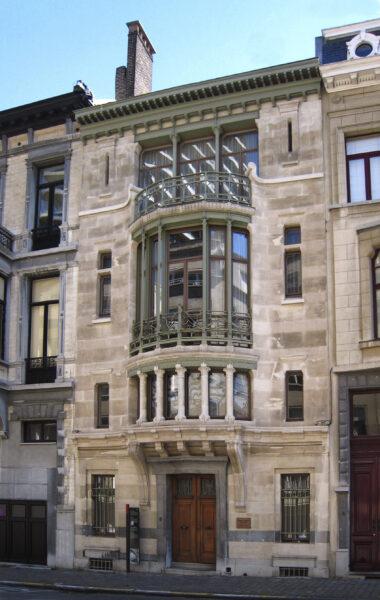 Casa Tassel, arquitectura modernista, Víctor Horta