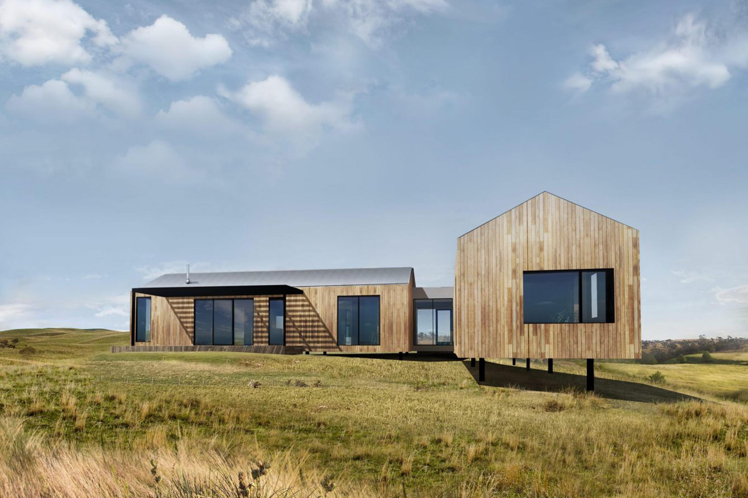 vivienda modular en madera