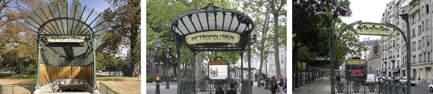 Metro de París - Guimard