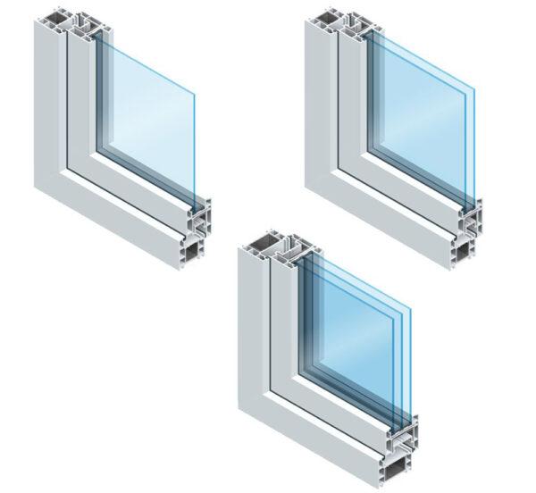 Partes de una ventana - tipos de vidrio