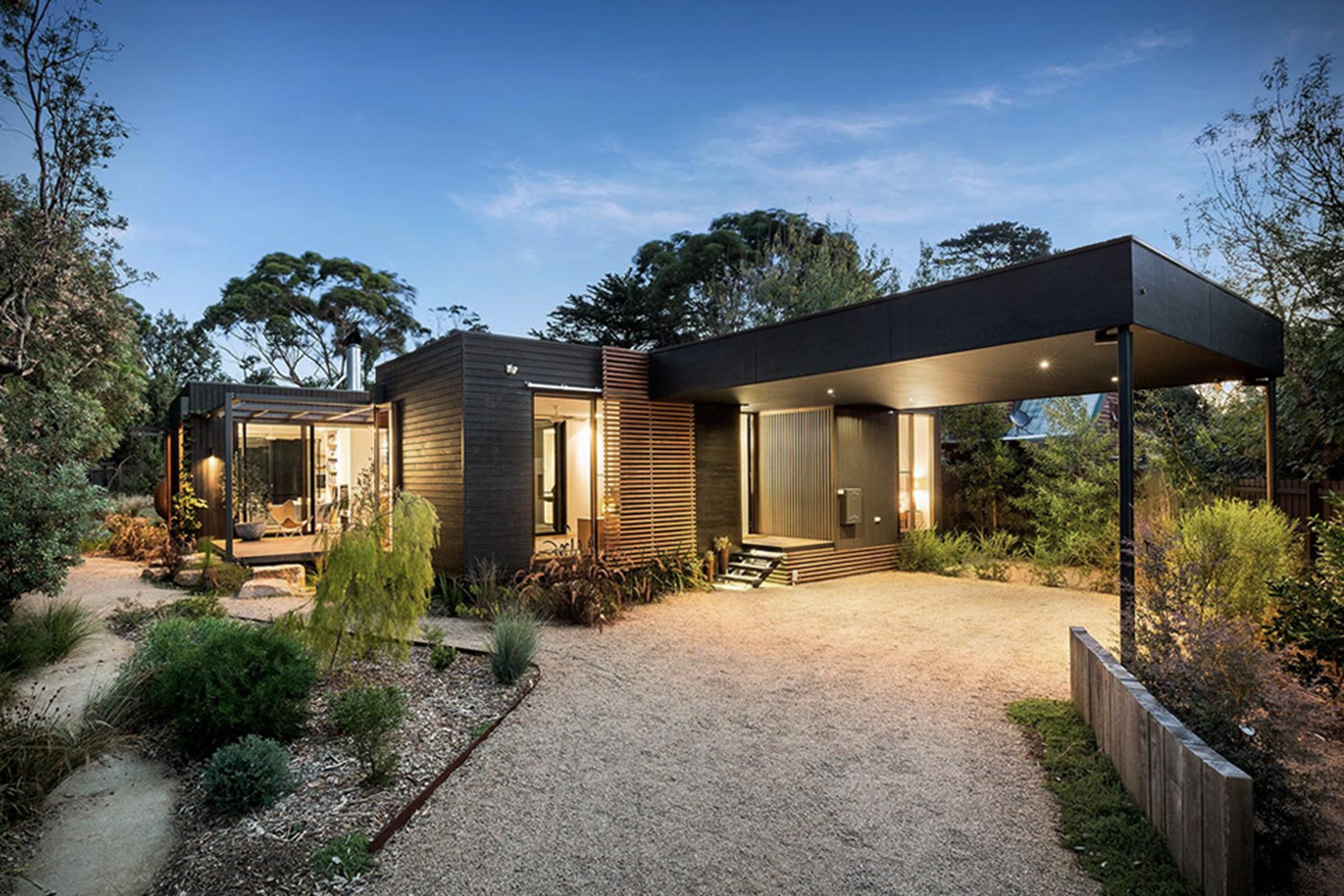 Vivienda modular en acero, arquitectura modular