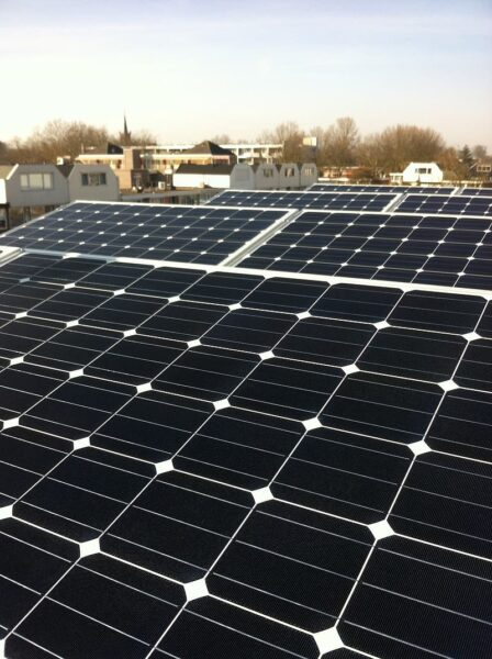 casas autosuficientes, paneles solares